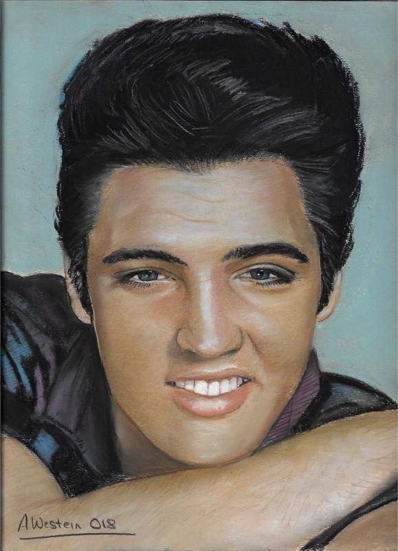 Elvis Presley by western61